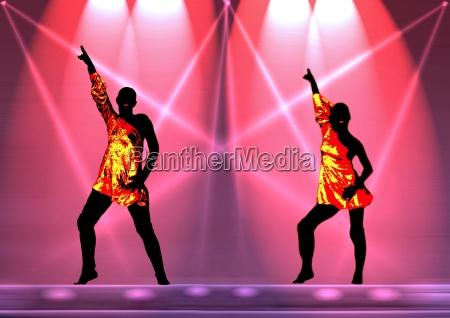 lightning dance
