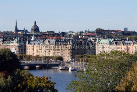 stockholm stadtblick
