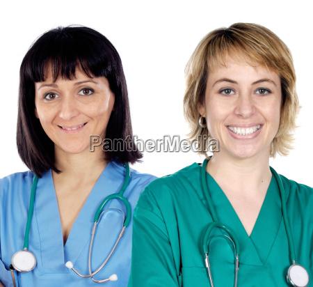 two doctor women