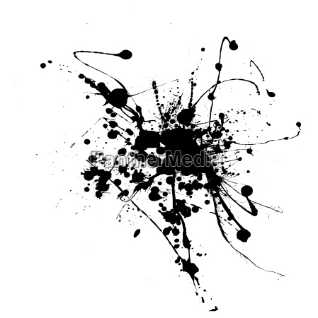 spider ink splat