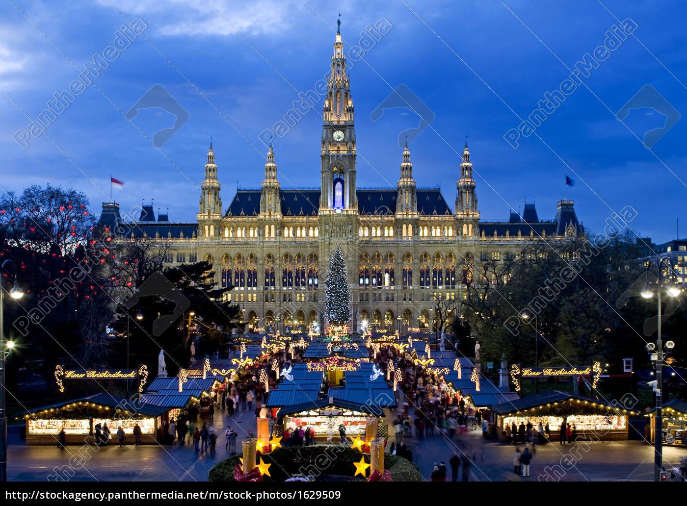 weihnachtsmarkt, in, wien, beim, rathaus - 1629509
