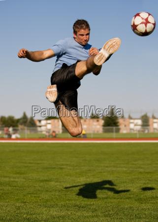 male soccer