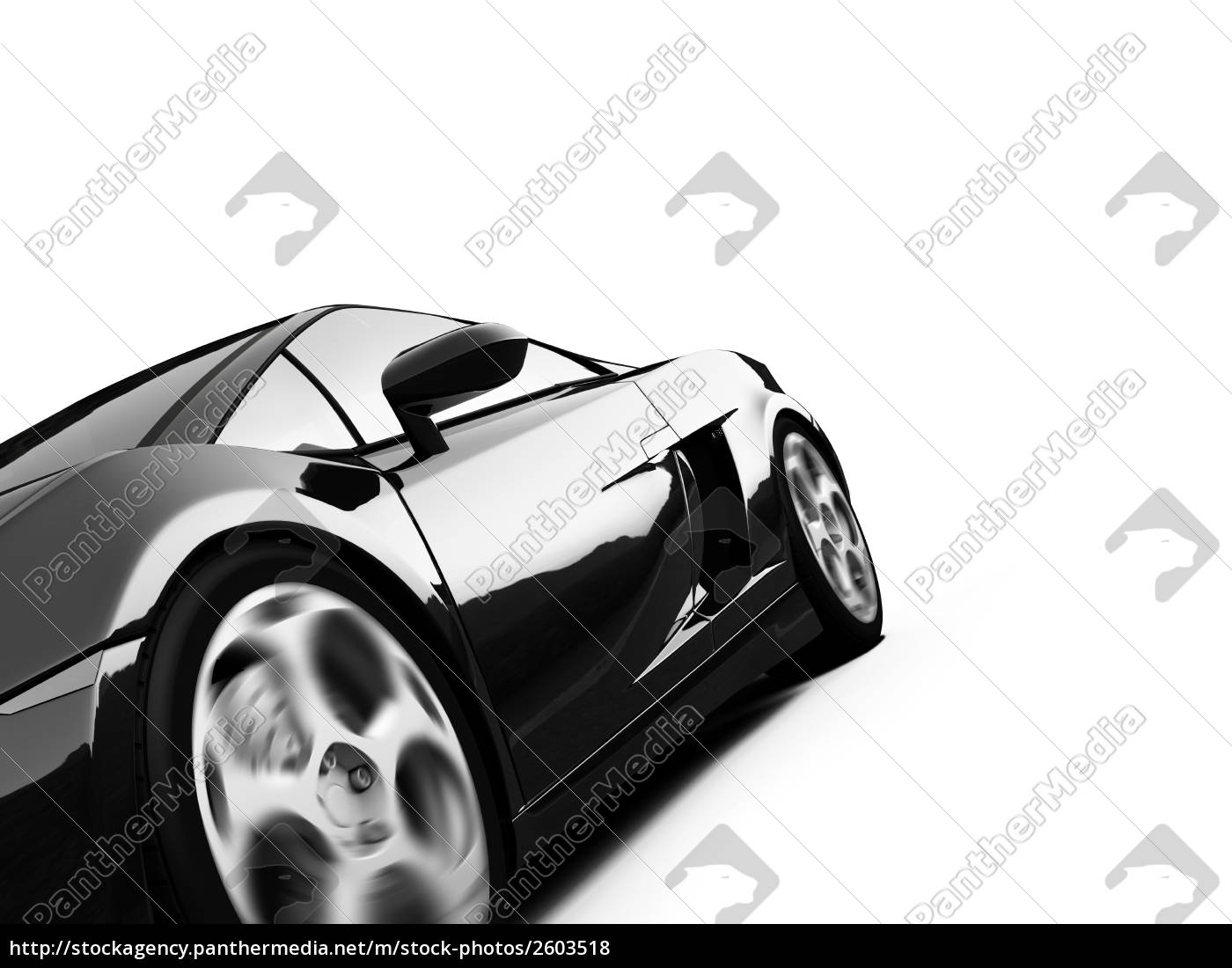 isoliert, sport, auto-ansicht - 2603518