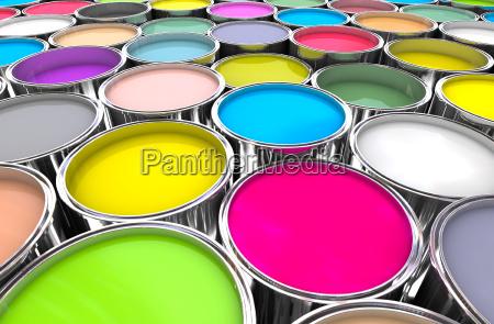 farben malen kann hintergrund