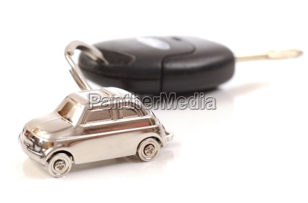 key car with little key ring