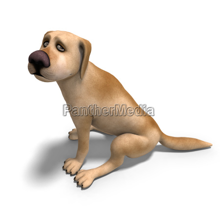 very funny cartoon dog is a