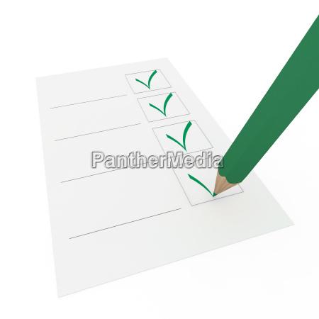3d pencil pen check gruen