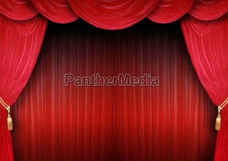 buehnenkulisse eines theaters