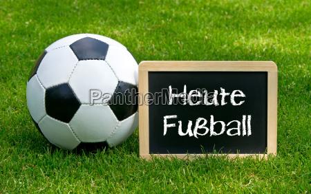 heute fussball konzept sport und
