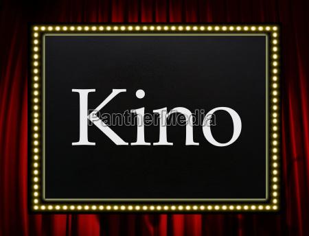 kino entertainment concept