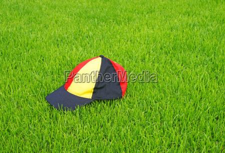 german soccer fan concept fussball