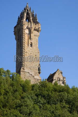 wallace monument stirling scotland