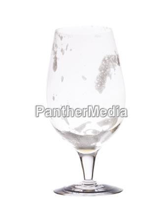 empty glass of beer