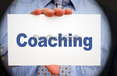 coaching business konzept