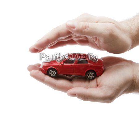 car protection clipping path included