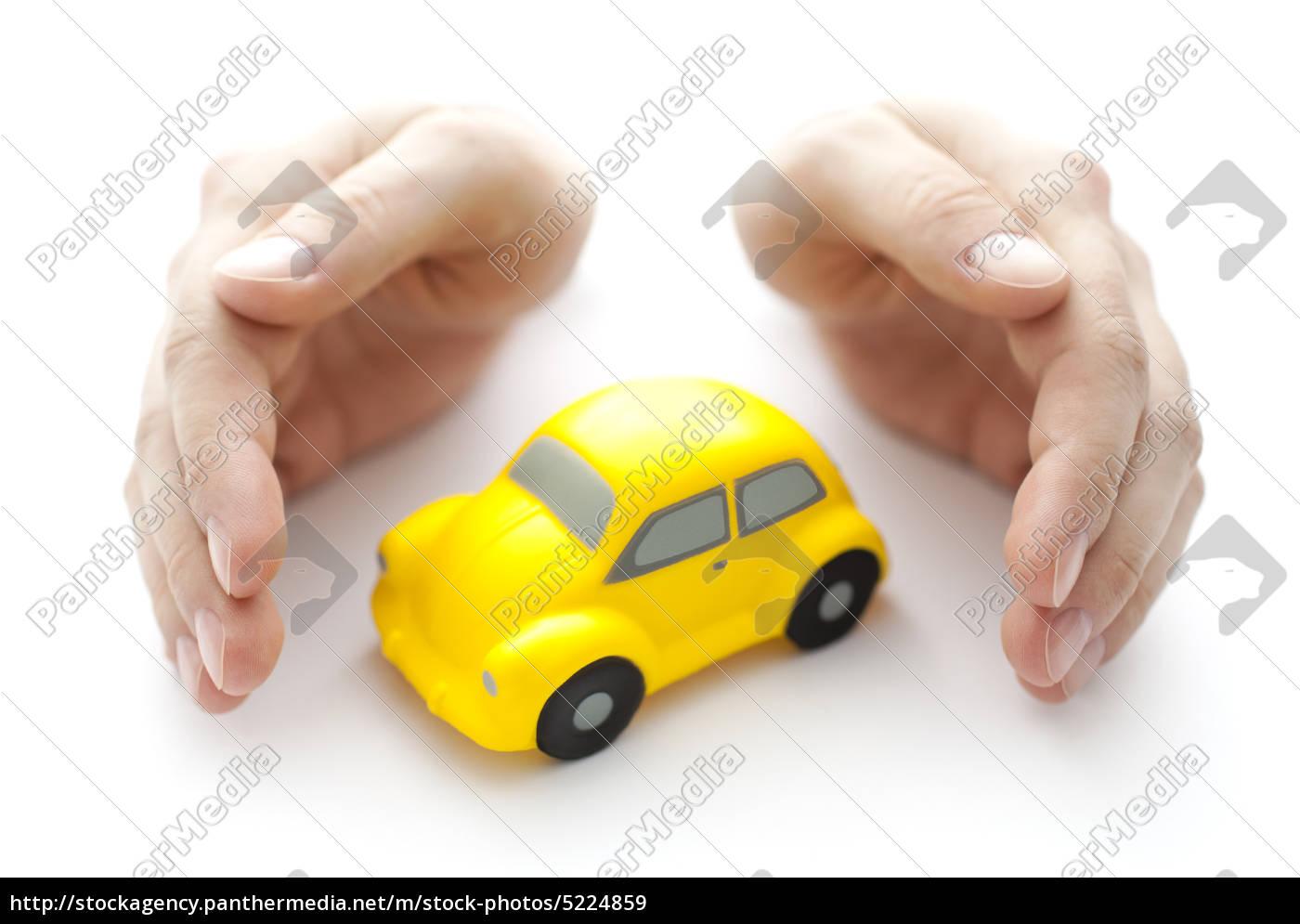 schützen, sie, ihr, auto - 5224859