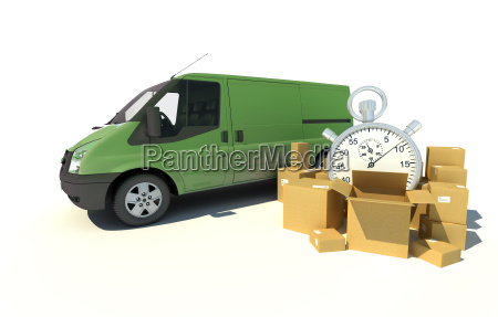 delivery van urgent transportation