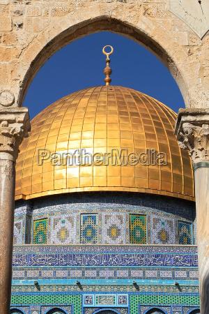 vertikale orientiertes bild der kuppel auf