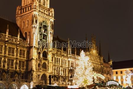 weihnachtsmarkt am marienplatz muenchen