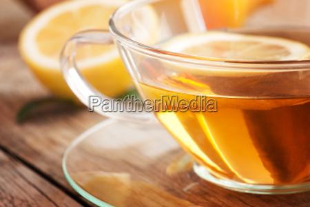 lemon fruit tea