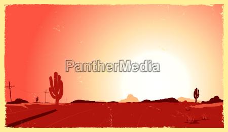 western desert heat