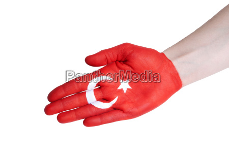 a turkish handshake