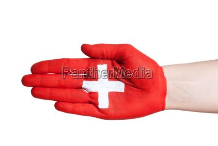 swiss handshake