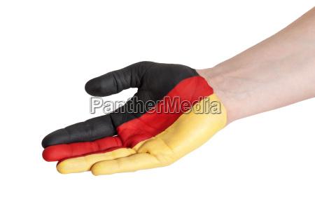germany in helping gesture