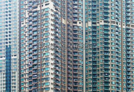 apartment building in hong kong