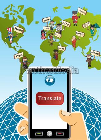 global translation app concept