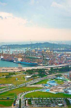 singapores port