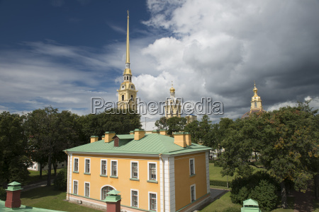 peter and paul cathedral in sankt