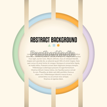abstract background design with shaps and