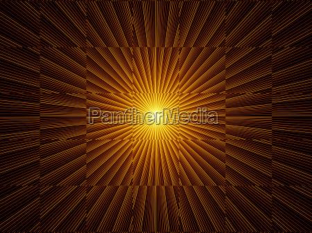 energy of fractal burst