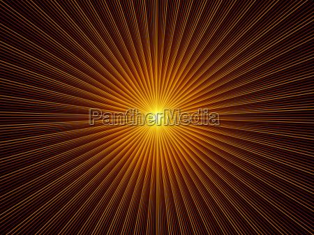 exploding fractal burst