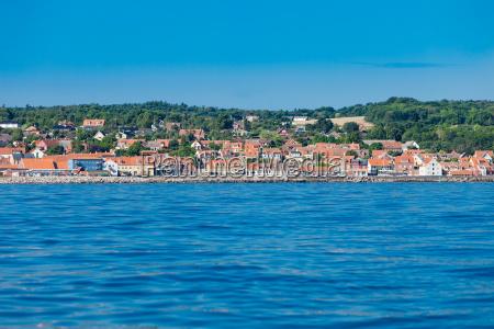 island fort christiansoe bornholm baltic sea