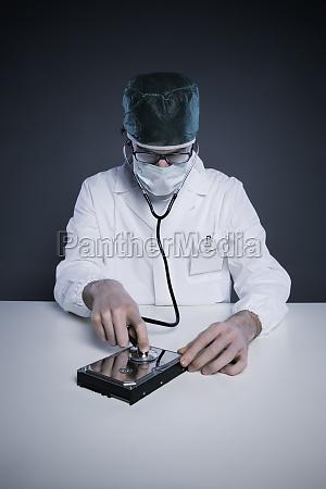 hard disk healthcare