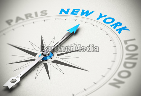 travel to new york city concept