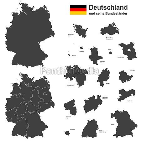 deutschland und seine bundeslaender