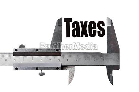measuring taxes
