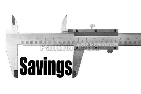 measuring our savings