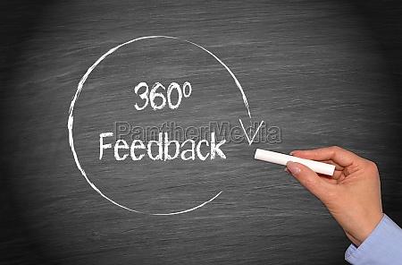 360 degrees feedback