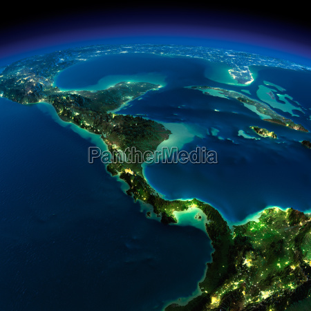 night earth the countries of central