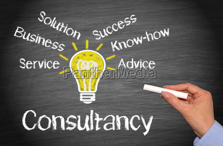 consultancy business concept