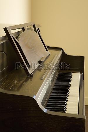 detail eines klaviers