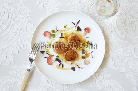 food aliment mollusc kitchen cuisine topview