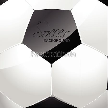 soccer ball poster design