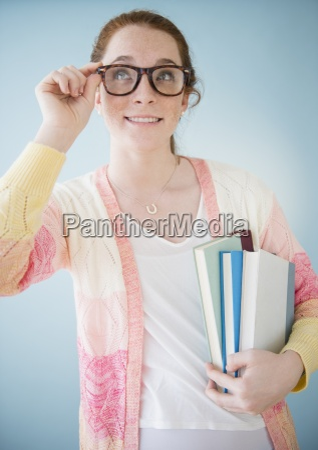 fashion playful portrait spectacles glasses eyeglasses