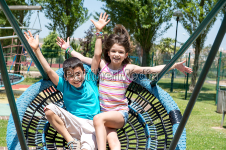 kids im park