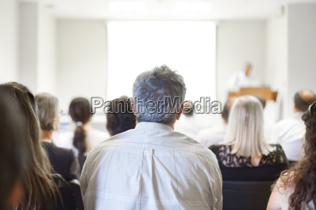 business convention and presentation